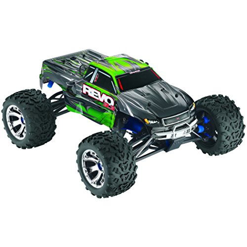 Traxxas 53097 Revo 3.3 4WD Nitro-Powered Monster Truck Ready-To-Race Trucks (1/10 Scale), Colors May Vary (Gas Rc Cars Hobby compare prices)
