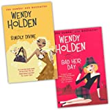 Wendy Holden 2 Books Collection Pack Set RRP: �15.98 (Bad Heir Day, Simply Divine)by Wendy Holden