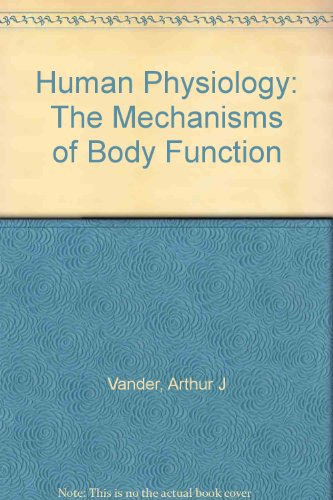 The Mechanisms of Body Function Human Physiology: