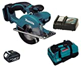 MAKITA 18V LXT BCS550 BCS550Z BCS550RFE CIRCULAR SAW, BL1830 BATTERY, DC18RC CHARGER AND LXT400 BAG - PF TRADE