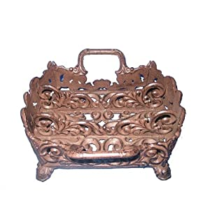 Amazon.com: CAST IRON FLATWARE CADDY: Kitchen & Dining