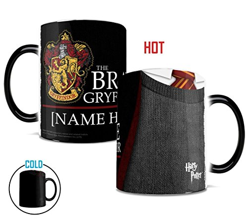 Harry Potter Gryffindor Robe Personalized Heat Sensitive Coffee Mug (Personalized Harry Potter compare prices)