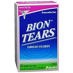 Alcon Bion Tears Single-Use Vials 28 Ct