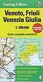 img - for Veneto, Friuli-Venezia-Giulia 1:200K TCI (English and Italian Edition) book / textbook / text book