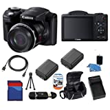 SSE: Canon PowerShot SX500 Digital Camera w/ Advanced Camera Package - 6353B001