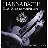 Hannabach 27109B Guitarra Schrammel (Nylon), Bordun Set 9-string