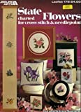 Read State Flowers Charted for Cross Stitch & Needlepoint (Leisure Arts, Leaflet 178) on-line