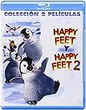Pack: Happy Feet 1 + Happy Feet 2 [Blu-ray]