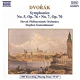 Dvorák: Symphonies Nos. 5 & 7