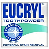 Eucryl toothpowder freshmint - pack of 2