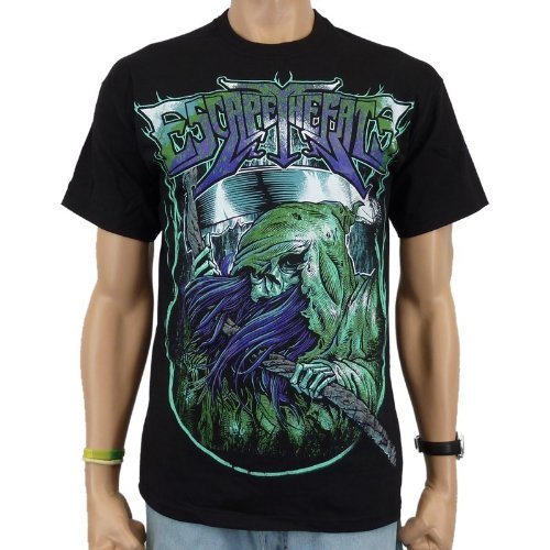 Escape the Fate - T-shirt Reaper Band, Nero, Uomo, ESCAPE THE FATE - REAPER T-Shirt, nero, XL