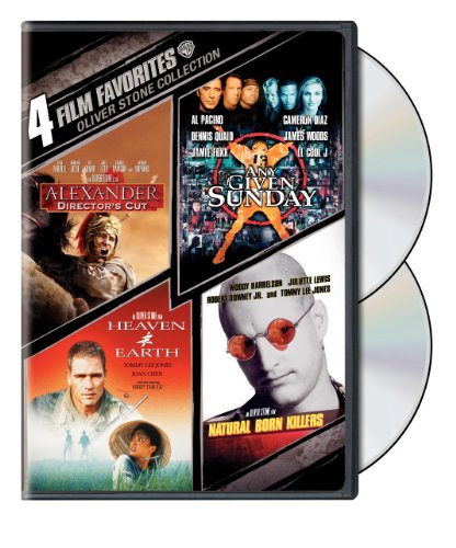 Cover art for  Oliver Stone Collection: Four Film Favorites (Alexander Director's Cut / Any Given Sunday / Heaven and Earth / Natural Born Killers)