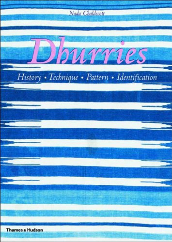 Dhurries: History, Technique, Pattern, Identification