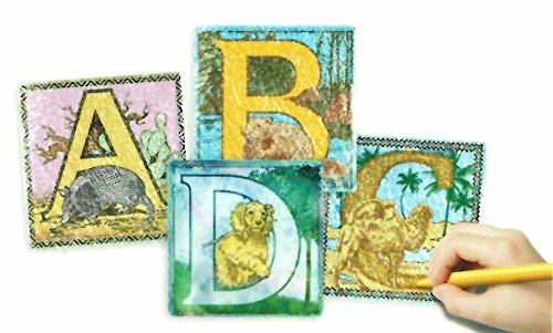 Embossed Paper - Alphabet Animals Collection (Package of 26 Sheets) - 1