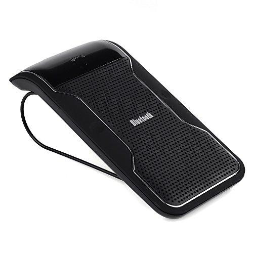 Victsing Handsfree In-Car Bluetooth Speakerphone Car Kit Wireless Speaker Phone With Sun Visor Clip