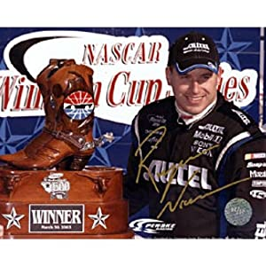Autographed Ryan Newman Picture - 8x10 Racing - Autographed NASCAR Photos by Sports Memorabilia