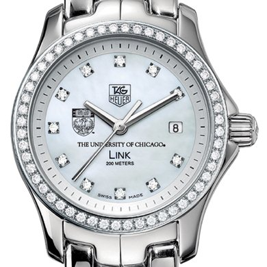 Chicago Women's TAG Heuer Link with Diamond Bezel