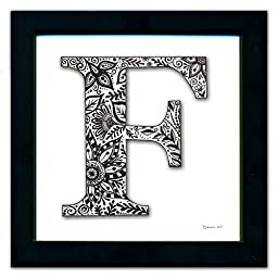 F Monogram Pen & Ink
