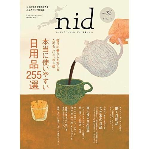 nid vol.36ニッポンのイイトコドリを楽しもう。本当に使いやすい日用品255選 (Musashi Mook)