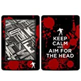 Kindle(2014年発売) スキンシール【Keep Calm - Zombie】