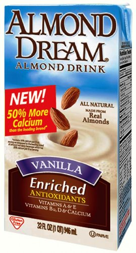 Almond Dream Almond Drink, Vanilla, 32 Ounce (Pack Of 12)