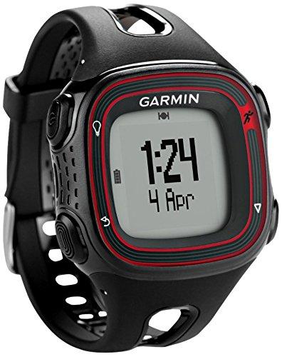 Garmin Forerunner 10 – Montre de running avec GPS intégré – Noir/Rouge