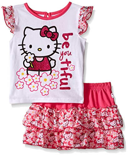 Hello-Kitty-Baby-Girls-2pc-Top-and-Skirt-Set