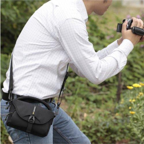 VANGUARD ショルダーバッグ BIIN 17 Black デジタルビデオカメラ+機材類対応 ブラック