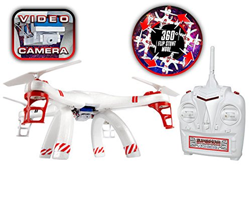 World-Tech-Toys-24GHz-45-Ch-Supernova-SPY-Quad-Drone-Camera-Remote-Control-Quadcopter-Vehicle