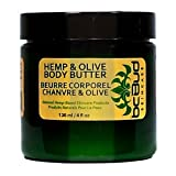Hemp & Olive Body Butter - Natural Rich Hemp Body Butter That Melts On Contact With Skin And Penetrates Deep To...