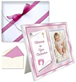 Baby Blessing Dedication Picture Frame Gift Blessings on Your Dedication - Girl