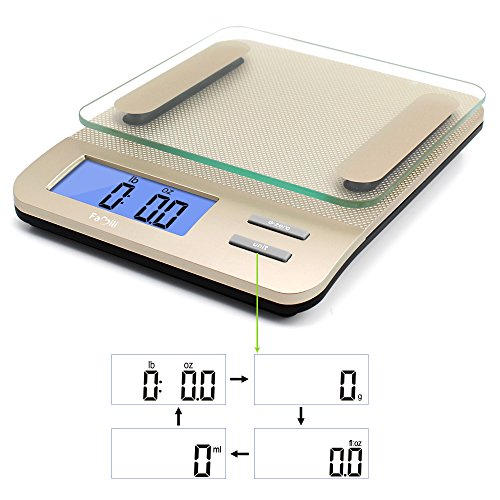 Famili FM207 Accurate Digital Kitchen Food Weighing Scale