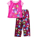 Komar Kids Owls Pink Girls Pajamas Set
