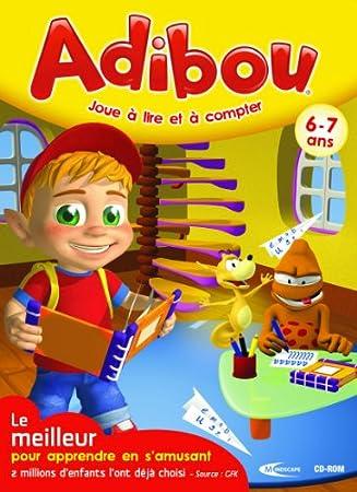 Adibou joue à lire et à compter 6-7 ans 2010/2011 (DVD seul)