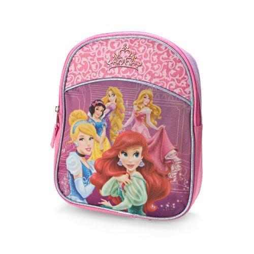 Disney Princesses Group Mini Pink Backpack - 1