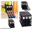Space Saver High Quality 3 Tier K-cup Holder Storage Drawers for Keurig K-cup Coffee Pods