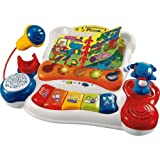 Ultimate VTech Baby Sing and Discover Piano with accompanying Set of 10 KiddiSafe Door Stoppers