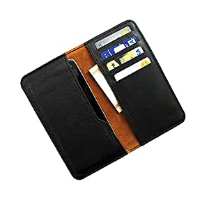 i-KitPit : PU Leather Wallet Flip Pouch Case For LG Nexus 4 (BLACK)