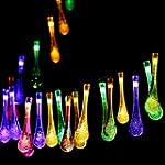 Solar Outdoor String Lights,GDEALER 2...