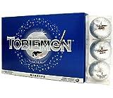 TOBIEMON(トビエモン) 飛衛門 ゴルフボール キラキラメタルボール 公認球 12球(1ダース) FLYGADR ランキングお取り寄せ