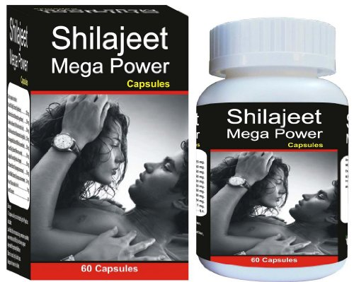 Shivalik Shilajeet Mega Power Herbal Medicine for overall sexual health of Men and Women, libido enhancer, stamina, energy booster - 60 Capsules