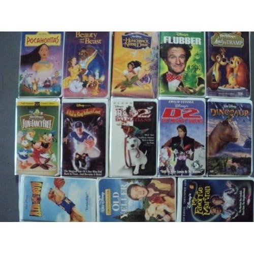 com: Disney 13 Pack VHS Movies, Walt Disney: Pocahontas - Masterpiece