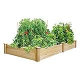 Greenes 4 Ft. X 8 Ft. X 10.5 In. Cedar Raised Garden Bed