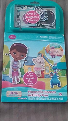 Doc McStuffins Magnetic Scenes Activity Fun