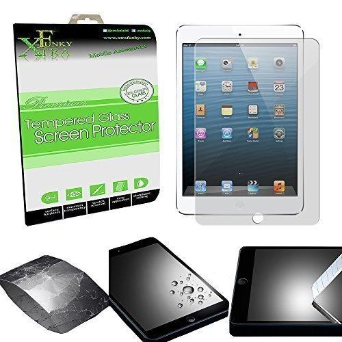 Xtra-Funky Serie iPad Air 1 e 2 (iPad 5 e 6) Ultra Fine 0.26mm Alta qualità Reale 100% Protezione Genuina Dello Schermo in Vetro Temperato 9H Resistente ai Graffi - Tempered