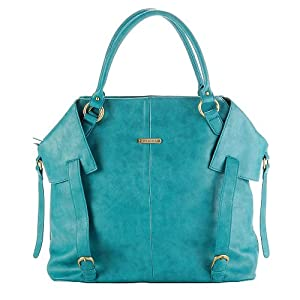 Timi & Leslie Charlie Convertible Diaper Bag - Teal by L & L Merchandise