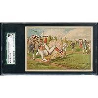 1880's A&P Baking Powder Trade Card A Short Stop SGC 50 VG-EX 277769 Kit Young Cards