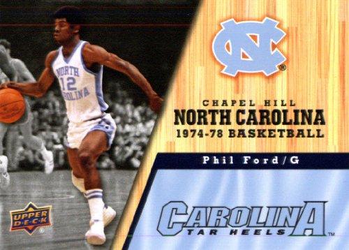 2010 /11 Upper Deck North Carolina Basketball # 32 Phil Ford
