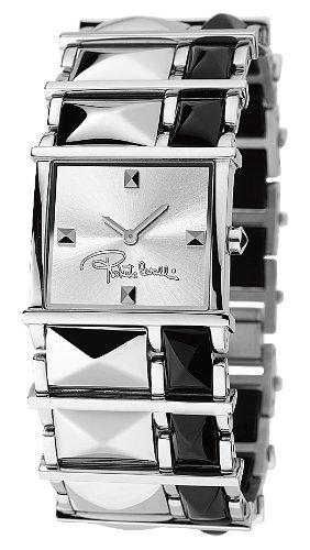 Roberto Cavalli 'Rock' 7253121615 - Reloj unisex de cuarzo, correa de acero inoxidable color varios colores