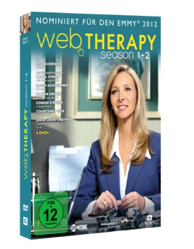 Web Therapy - Season 1&2 [4 DVDs]